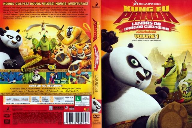 Kung Fu Panda - Lendas Do Dragão Guerreiro - Volume 1_Capa01